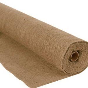 20 feet+ x 3 feet+ burlap rolls available now